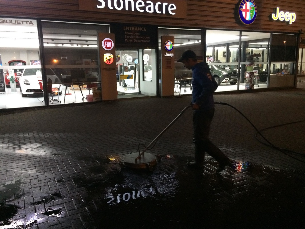 Telford Forecourt Cleaning
