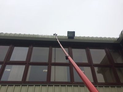 professional cladding cleaning