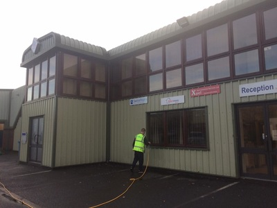 cladding clean telford