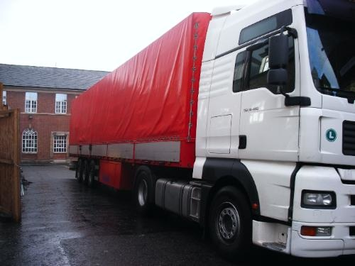 Telford Mobile Commercial Truck Washing Fleet Cleaning Service