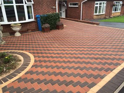 clean block paving