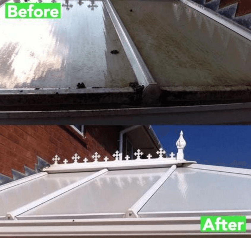 Conservatory Cleaning Service Wolverhampton
