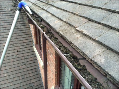 Gutter Cleaning in Shifnal