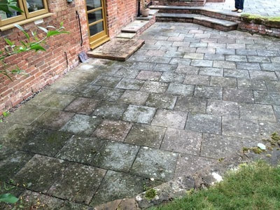 patio cleaning telford